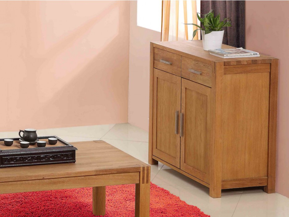 sideboard holz brocelande ii eiche ge lt 2 t ren 2. Black Bedroom Furniture Sets. Home Design Ideas