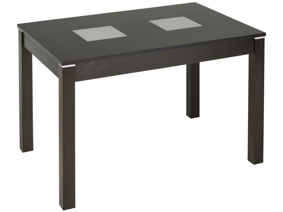 esstisch massivholz salena ausziehbar wengefarben. Black Bedroom Furniture Sets. Home Design Ideas