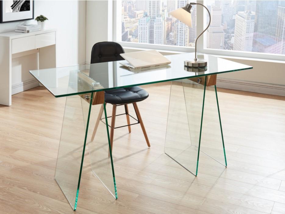 Schreibtisch glas millenium kaufen bei kauf for Schreibtisch glas