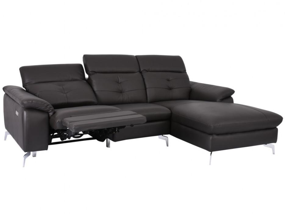 relaxsofa ecksofa leder lismore braun ecke rechts kaufen bei kauf. Black Bedroom Furniture Sets. Home Design Ideas