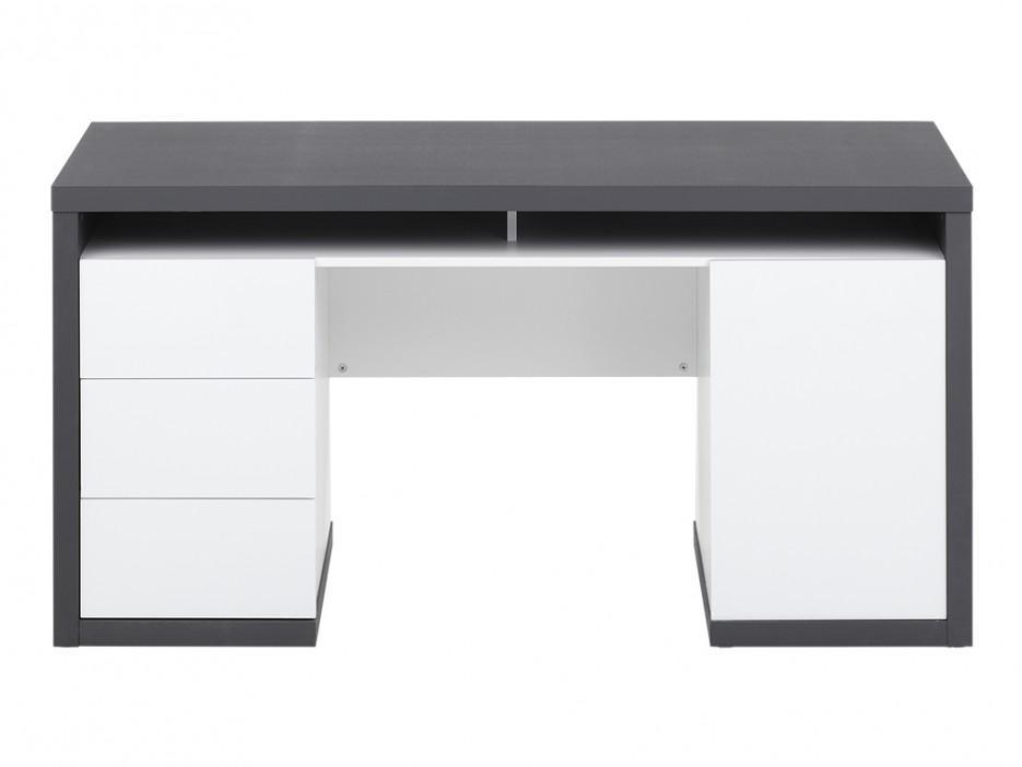 schreibtisch mit stauraum igor iii kaufen bei kauf. Black Bedroom Furniture Sets. Home Design Ideas
