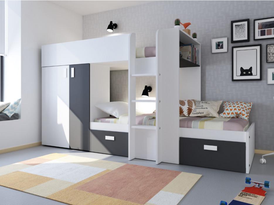 Etagenbett Haus : Hochbett mit stauraum haus möbel das moderne für