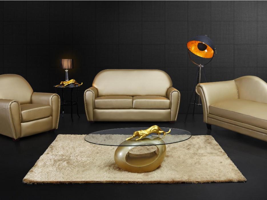 stehleuchte tripod metall movie schwarz gold h he 166. Black Bedroom Furniture Sets. Home Design Ideas