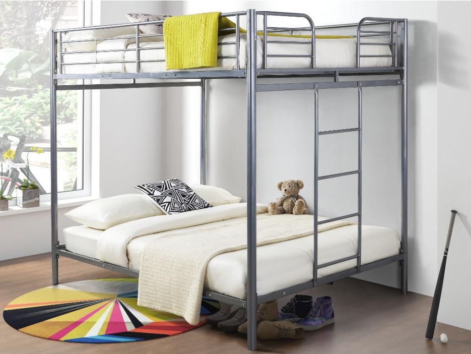 Etagenbett Set : Set etagenbett mit bettboden gemini ii 2 matratzen 2x140x190cm