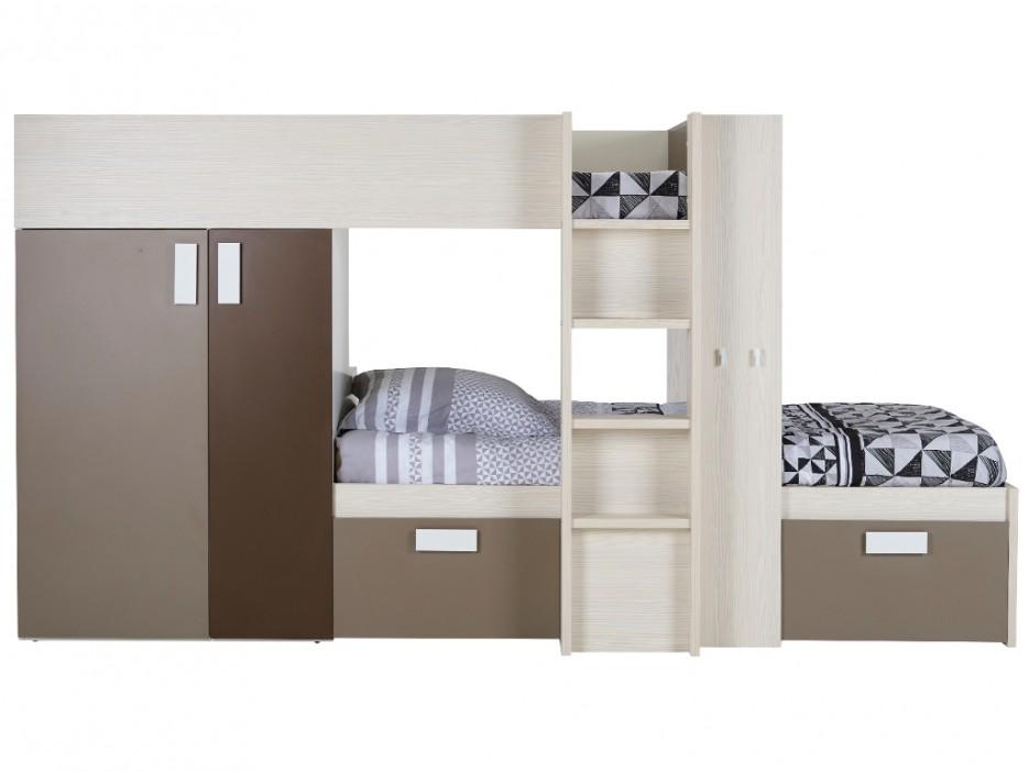 Etagenbett Mit Lattenrost : Set etagenbett julien lattenrost matratzen cm