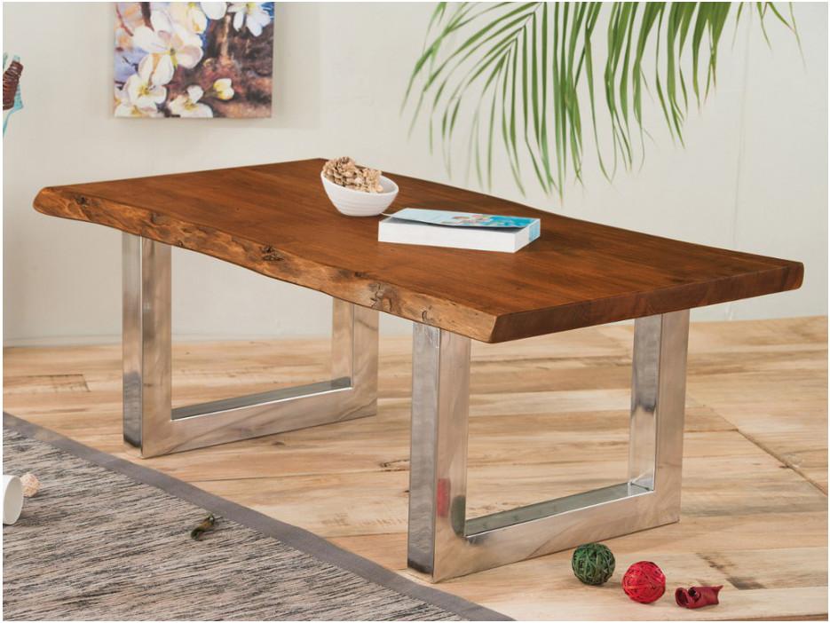 Couchtisch Holz massiv TUSTY - Kaufen bei Kauf-Unique.de