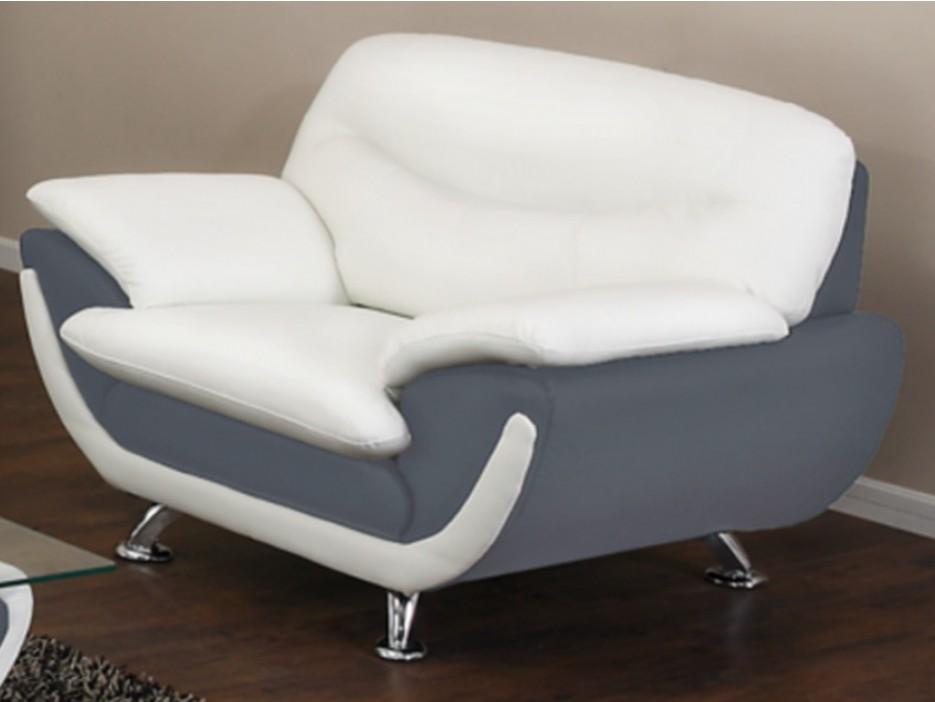 sessel indiz grau wei kaufen bei kauf. Black Bedroom Furniture Sets. Home Design Ideas
