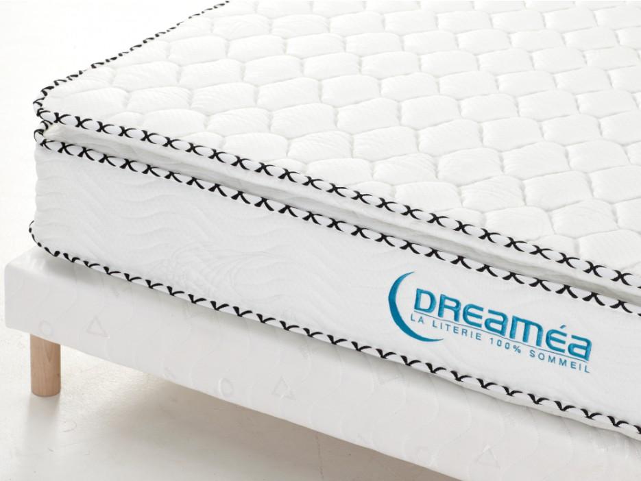 taschenfederkernmatratze lattenrost set mit topper altier 180x200cm kaufen bei kauf. Black Bedroom Furniture Sets. Home Design Ideas