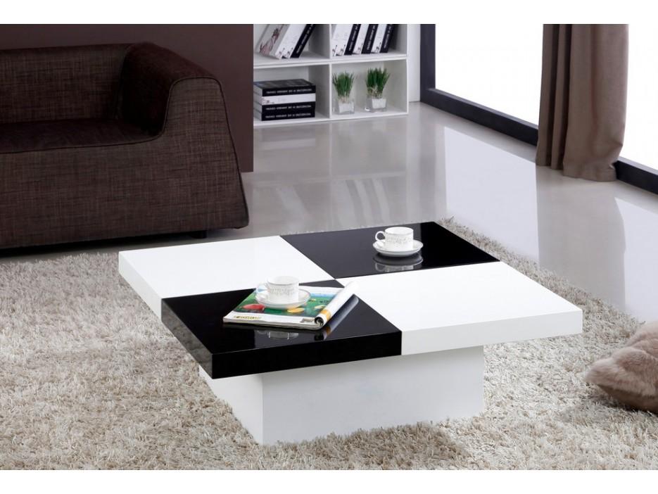 couchtisch glas calisto schwarz wei kaufen bei kauf. Black Bedroom Furniture Sets. Home Design Ideas