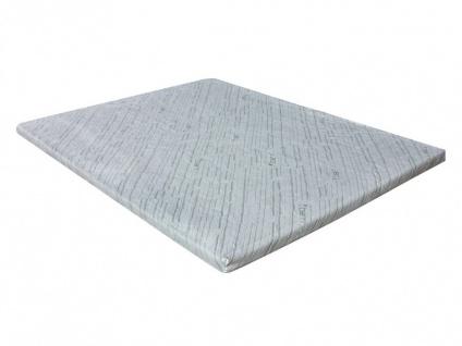 Visco-Matratzenauflage Topper Bambus - 80x200cm - Vorschau 5