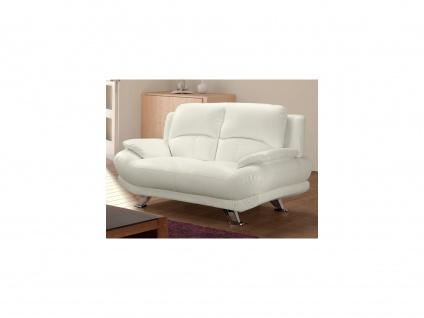 Sofa 2-Sitzer MUSKO - Elfenbeinfarben