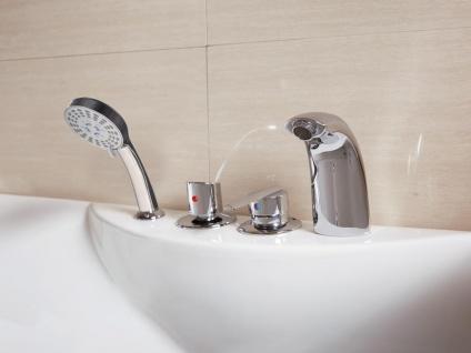 Whirlpool Badewanne GAVINO - 1 Person - 140 Liter - Ecke Rechts - Vorschau 3