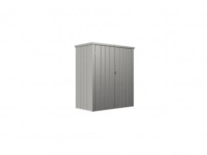 Garten-Aufbewahrungsschrank SEVY - Stahl - Grau - 1, 24 m² - Vorschau 2