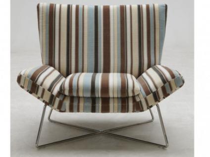 Lounge-Sessel Stoff Carmina - Taupe-Beige