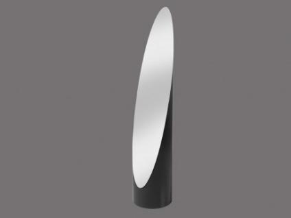 Standspiegel Pop Up - Schwarz - Höhe: 145cm