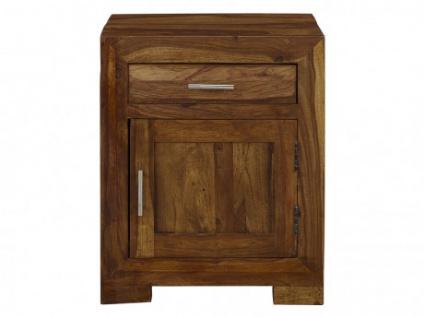 Nachttisch Holz COPELIA - 1 Tür & 1 Schublade