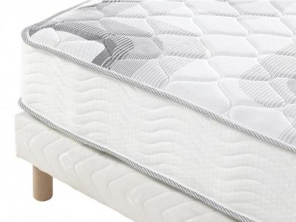 Kombination Untergestell + Taschenfederkern-Matratze Dicke: 20cm SONGE von DREAMEA - 140x190 - Vorschau 3