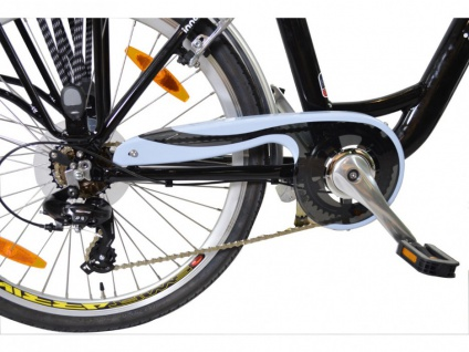 Pedelec E-Bike 36V 26 Zoll Belair II - Schwarz - Vorschau 5