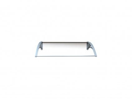 Vordach Aluminium Copalina - 140 x 92, 5 cm