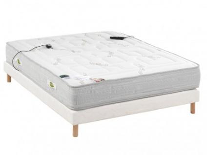 Luxus-Massagematratze Lattenrost Set BENEDETTO - 160x200cm