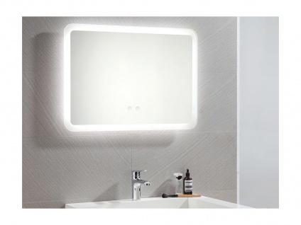 Spiegel mit LED-Beleuchtung ORBITEA - B70 x H50 cm - Vorschau 1