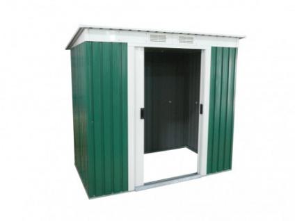 Gerätehaus Metall Ringo - 251x111cm (3m²)