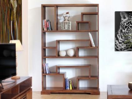 Regal Raumteiler Holz massiv Bombay II