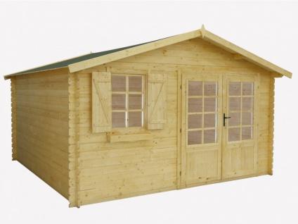 Blockhaus Gartenhaus Holz EBANO - 16m²