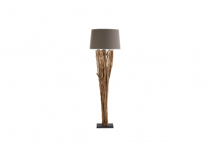 Stehlampe RANUA - Holz - Höhe: 175 cm
