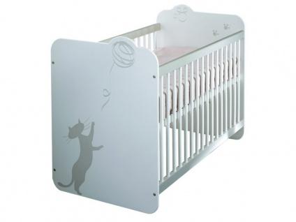 Babybett Kinderbett Catty - Weiß - Vorschau 5