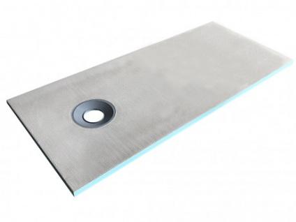 Duschwanne Duschtasse zur Selbstgestaltung mit Siphon DELOS - 1800x800x40mm