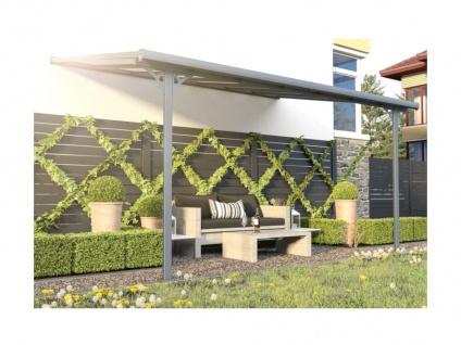 Terrassendach anlehnend ALVARO - Aluminium - 13, 2 m² - Vorschau 2
