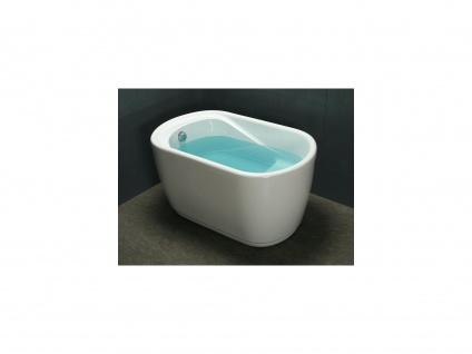 Freistehende Badewanne Piccola - 240 L - Weiß