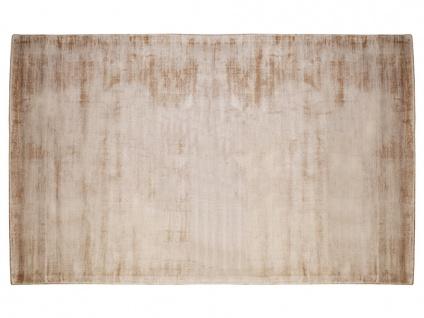 Teppich LOUVAIN - 100% Viskose - 160x230 cm - Beige