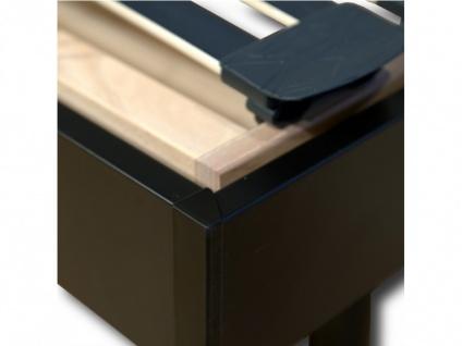 Elektrischer Lattenrost inkl. Bettrahmen & Motor Galaxie - 80x200cm - Schwarz - Vorschau 5
