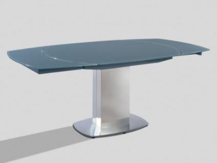 Esstisch Glas Talicia Ausziehbar Grau Kaufen Bei Kauf Uniquede