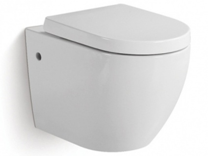 Wand WC Keramik Kenji - Weiß - Vorschau 5