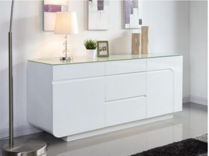 Sideboard Design Hochglanz Bend - Vorschau 1