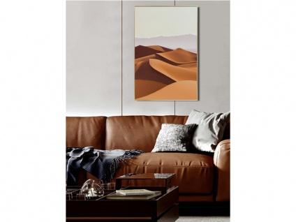 Kunstdruck gerahmt DESERTO - 60 x 90 x 2, 5 cm - Orange