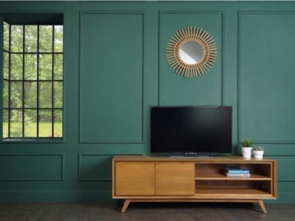 TV-Möbel JAMBI - 2 Türen & 2 Ablagen - Teakholz