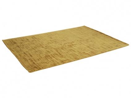 Teppich LOUVAIN - 100% Viskose - 200x290 cm - Senfgelb - Vorschau 3