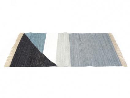 Kelim-Teppich handgewebt MYCENE - Baumwolle - 160x230cm - Vorschau 5