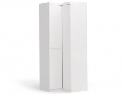 Eckkleiderschrank Alrik - 2 Türen