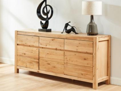 Sideboard Holz OLINKA - 3 Türen & 3 Schubladen
