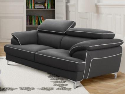 2-Sitzer Sofa Voltaire - Grau