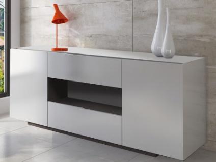 Sideboard Malik - 2 Türen & 2 Schubladen - Weiß
