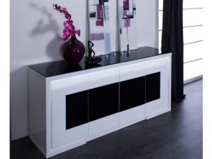 Sideboard Design Hochglanz LED Kibo