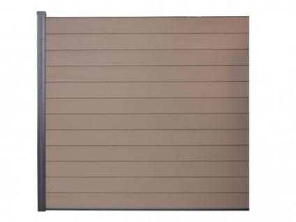 Verlängerung für Sichtschutz BARRERA III - 180x180 cm - Braun