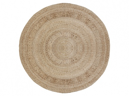 Teppich SUNSHINE - 100% Jute - D. 155 cm