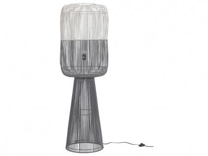 Stehlampe Bambus SYRACUSE - Höhe: 151cm